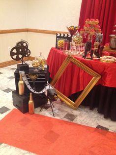 frame, camera, movie reels, director clapboard
