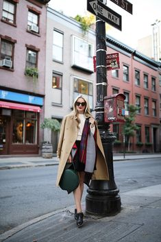 Autumn/winter perfection---> Reversible Plaid Cape: Modena (in two other color here and here). Coat: Vince. Skirt: old, similar. Shoes: Everlane, similar here. Sunglasses: Karen Walker. Cropped cable sweater: JOA (new fave). Bag: Mansur Gavriel c/o. Thank you...Read More