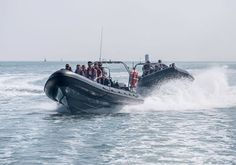 90 min battle of the boats on the Solent. Begin your fun on one of the luxury ribs at Ocean Village Marina & enjoy an adrenaline-fuelled race with friends Rigid Inflatable Boat, Cool Boats, Ghost Tour, Close Encounters, Power Boats, Getting Wet, Southampton, Days Out, Water Sports