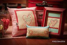Birdie Valentine Embroidery