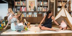 The founders of 6 Degrees of Mom dish on pregnancy, birth and making mom friends in the city.