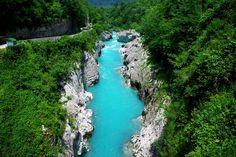 The Emerald Beauty – Soca River in the Julian Alps, Slovenia