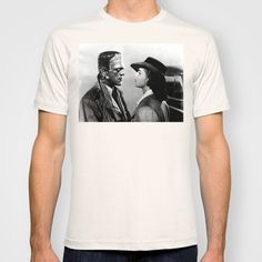 I love mashing up things that shouldn't be together. And the idea of the monstrous creature of Dr Frankenstein in a romantic context was too hilarious not to give a try. Here it is the monster, then, replacing Humprey Bogart in the classic movie Casablanca. A cool and original twist, with a weird twist.