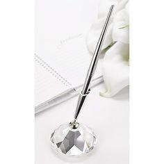 Diamond Cut Pen Set weddingneeds.carlsoncraft.com