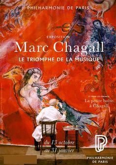 Marc Chagall, Le Triomphe de la Musique - Philarmonie de Paris, 19ème - Du 13/10/15 au 31/01/16