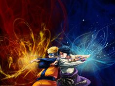 saauke   naruto vs sasuke