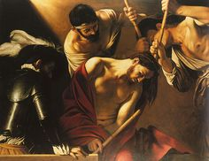 Caravaggio, Incoronazione di spine (Dornenkrönung/Crowning with thorns), Kunsthistorisches Museum, Wien  #TuscanyAgriturismoGiratola