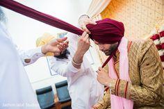 Indian groom turban. http://www.maharaniweddings.com/gallery/photo/128260