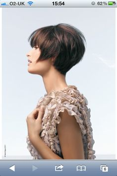 vidal sassoon inspired cut