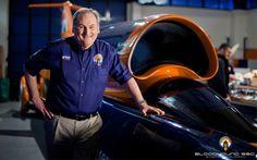 Projektleiter Richard Noble entwarf schnellstes Auto der Welt: den Bloodhound SSC