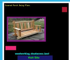 Covered Porch Swing Plans 231417 - Woodworking Plans and Projects!