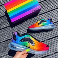 Nike Air Max 720 Air cushion jogging shoes Nike Air Max 720 Air cushion jogging shoes on Wanelo Nike Air Max, Nike Air Shoes, Air Max 97, Sneakers Nike, Nike Trainers, Sneaker Collection, Tn Nike, Rainbow Sneakers, Kicks Shoes