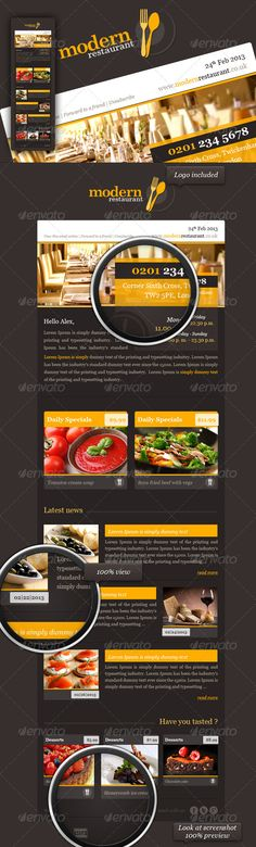 Coffee Shop Restaurant Trifold Brochure Coffee shop, Brochures - coffee shop brochure template