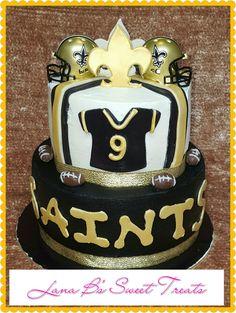 Saints Birthday Cake