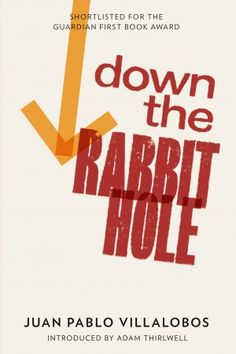 """""""Down the Rabbit Hole"""" by Juan Pablo Villalobos, tr. Rosaling Harvey, pub. And Other Stories. Short but devastating (in a good way, so far). @ Judith Land"""