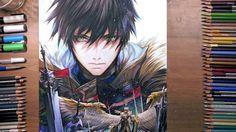 Seven Knights: Rudy - speed drawing   drawholic