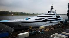 Project Jupiter hits the water at Lurssen - Yacht Harbour