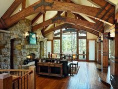 Log Homes Design Ideas,