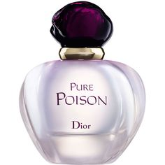 Dior Pure Poison Eau de Parfum (400 BRL) ❤ liked on Polyvore featuring beauty products, fragrance, flower perfume, christian dior, christian dior perfume, blossom perfume and flower fragrance