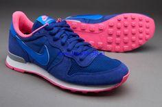 2015 | Nike Sportswear Internationalist Deep Royal Blauw Hyper Cobalt Hyper Roze - Dames Wezenlijk
