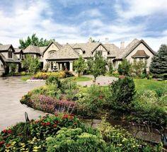 Charming European-Inspired Home