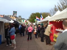 Market Place in Bangor! Loved going and getting Honey comb