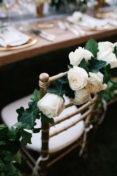 Floral topped sweetheart chair: http://www.stylemepretty.com/destination-weddings/italy-weddings/2016/01/26/classic-romantic-destination-wedding-in-tuscany/   Photography: Stefano Santucci - http://tastino0.it/