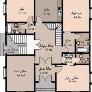صور تصميم بيوت House Layout Plans, Family House Plans, Dream House Plans, Small House Plans, House Layouts, Classic House Exterior, Classic House Design, Dream House Exterior, House Floor Design