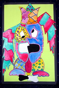 Dynasty Brush | Dynasty Teacher's Corner - Picasso Inspired Pets - Grade Level: 1 - 3 By: Christy Hartman