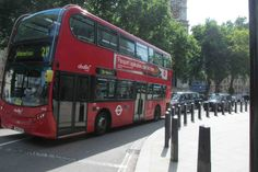 London Double Decker Bus. Riding this double decker bus was a highlight for my kids. You can buy tickets at kiosks right on the street. A good place to catch them is over by Trafalgar Square.