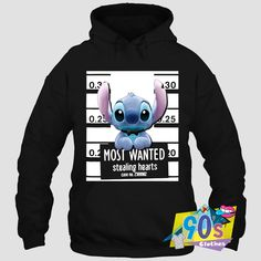 Clothes is proud to Most Wanted Stealing Hearts Stitch Hoodiefor you to wear everyday and wear with Vintage t shirt or tanktop. The post Most Wanted Stealing Hearts Stitch Hoodie appeared first on Clothes. Cute Disney Outfits, Disney Themed Outfits, Cute Casual Outfits, Stylish Outfits, Summer Outfits, Teen Fashion Outfits, Mode Outfits, Punk Fashion, Lolita Fashion