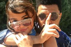Selena Gomez and The Weeknd cozy up at Coachella. Selena Gomez and The Weeknd cozied up at Coachella over the weekend. Selena And Abel, Selena Gomez The Weeknd, Selena Gomez Fotos, Coachella Festival, Festival Gear, Paris Hilton, Alessandra Ambrosio, Celebrity Couples, Celebrity News