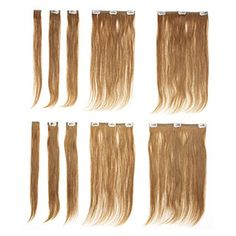 Clip in hair extensions are a must for girls with thin hair, it adds volume and is SO easy, can be found at Sallys Beauty Supply or through your hairdresser