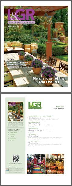 Lawn & Garden Retailer (August 2015) - For L&GR, Please visit http://frankponterio.com/press.php