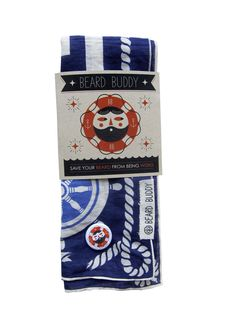 Beard Buddy Handkerchief (Vintage Nautical)