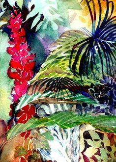 tropical prints - Google Search  Appreciated by www.escape2tropics.com