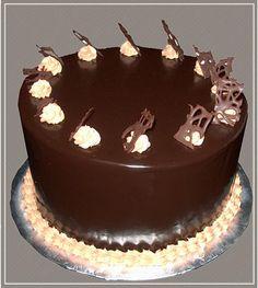 Chocolate Glaze Cake Decoration : 1000+ images about Simple diy cake decorations on ...