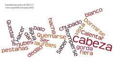 ¿Estáis preparando el #DELE #C1? Aquí os dejamos una colección de expresiones españolas para el examen.  Ofrecemos clases para preparar el DELE vía online :)  Ponte en contacto con nosotros. ¡Tenemos descuentos especiales para los nuevos alumnos!! :D