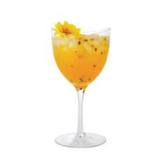 Passion Fruit Caipiroska...If you love tropical fruit flavors, this passion-fruit infused Caipiroska is the drink for you.