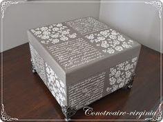Decoupage Box, Decoupage Vintage, Funky Painted Furniture, Paint Furniture, Painted Boxes, Wooden Boxes, Decoupage Printables, Altered Boxes, Wooden Projects