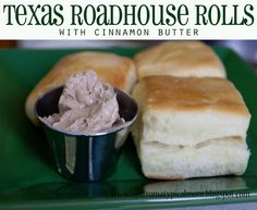 Texas Roadhouse Rolls are super yummy, especially with their cinnamon butter! These rolls are really similar and the butter recipe that I made up I like even better than Texas Roadhouse's. It's not honey cinnamon butter, it's brown sugar cinnamon butter! These rolls are really easy to make and the way I rolled them out...Read More »