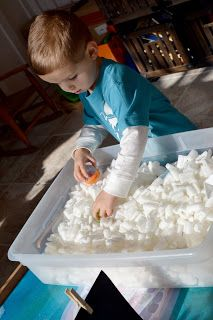 Outer Space birthday party activities: Asteroid Dig (lots more ideas on the blog!)