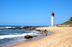 A perfect mixture of wildlife, history & relaxation all in KwaZulu-Natal, a province of South Africa blessed with a great climate & beautiful scenery. South Africa Holidays, Provinces Of South Africa, Durban South Africa, Kings Park, Kwazulu Natal, Sandy Beaches, Paths, Costa, Scenery