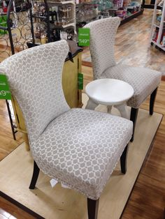 Chairs Home Goods Store, Sofa Chair, Accent Chairs, Dining Chairs, Favorite Things, Furniture, Home Decor, Houses, Upholstered Chairs