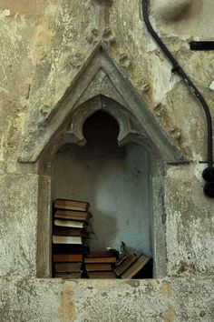 perfect library nook: fortified church, Richiș