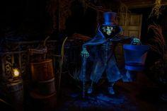 Hatbox ghost,Haunted Mansion,Disneyland !
