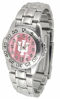 Indiana University Hoosiers Sport Steel Band - Ladies Mother Of Pearl - Women's College Watches by Sports Memorabilia. $69.13. Makes a Great Gift!. Indiana University Hoosiers Sport Steel Band - Ladies Mother Of Pearl