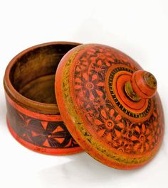afghanistan wooden spice box - Google Search