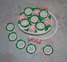 Vintage Tyco Flower Makin' Basket  To Make by pollypocketplus, 80's toy, Play doh