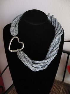Ravelry: Spool knitted torchon necklace pattern by Di Lana Cotta